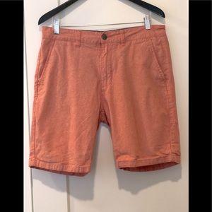 Kolby peach color shorts